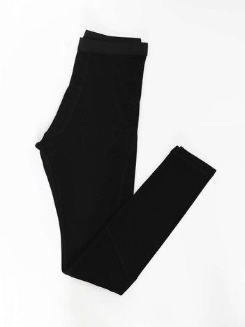 Czarne bawełniane kalesony męskie