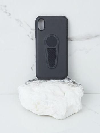 Czarne etui na iPhone X