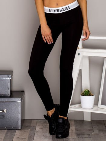 Czarne legginsy BETTER BODIES