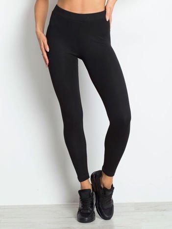 Czarne legginsy Standout