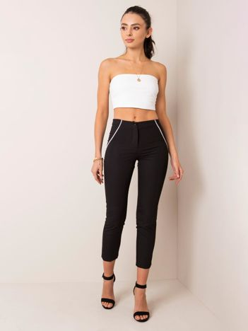 Czarne spodnie Elegance RUE PARIS
