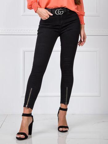 Czarne spodnie Ellen
