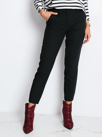 Czarne spodnie Savage