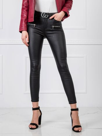 Czarne spodnie Tilda