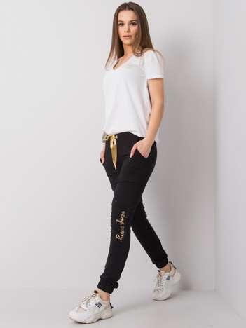 Czarne spodnie dresowe Giselle