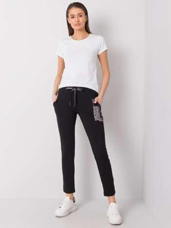 Czarne spodnie dresowe Taylor