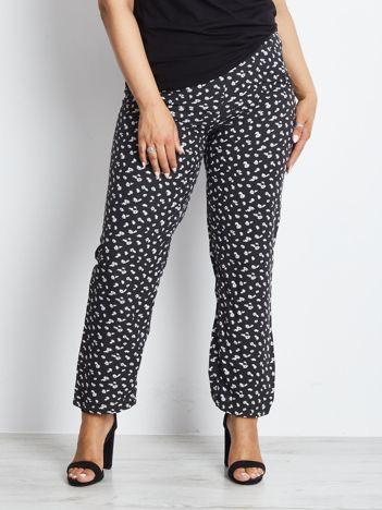 Czarne spodnie plus size Profitable
