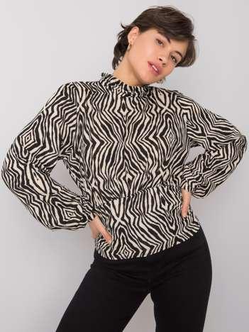 Czarno-beżowa bluzka Talulla RUE PARIS