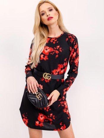 Czarno-czerwona sukienka Moulin