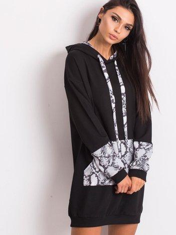 Czarno-szara sukienka Lauren