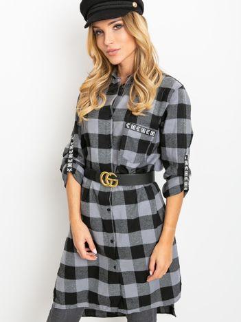 Czarno-szara sukienka Paradox