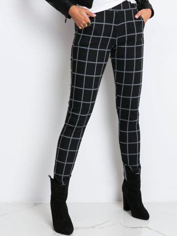 Czarno-szare spodnie Break
