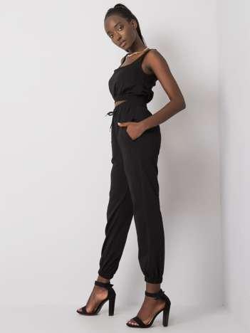 Czarny komplet dresowy Irini
