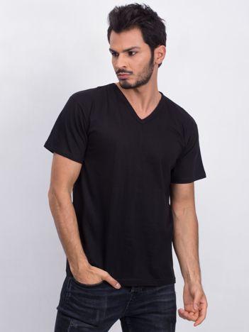 Czarny męski t-shirt Permitting