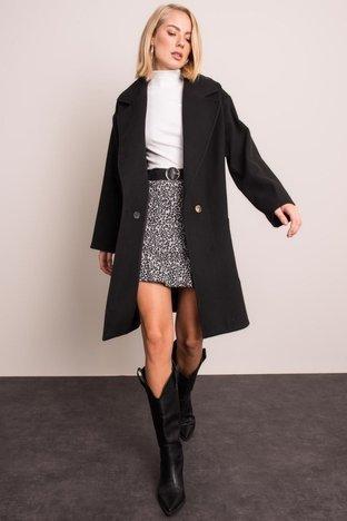 Czarny płaszcz BSL