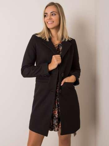 Czarny płaszcz Dalida