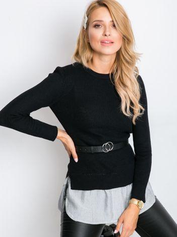 Czarny sweter Daphne