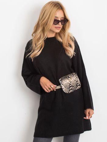 Czarny sweter Perfect