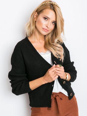 Czarny sweter Sandy