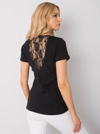 Czarny t-shirt Melody