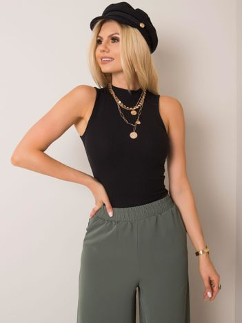 Czarny top Hannah RUE PARIS