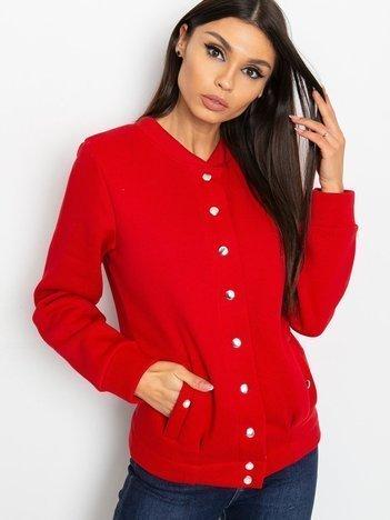 Czerwona bluza Harvey