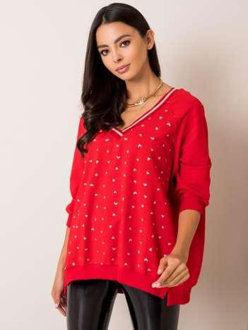 Czerwona bluza Helen