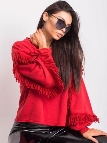 Czerwona bluza Silvia