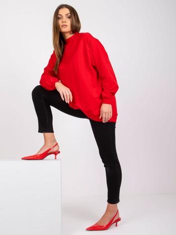 Czerwona bluza Twist