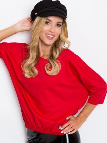 Czerwona bluzka Brittany