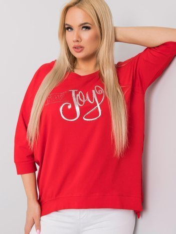 Czerwona bluzka Cande