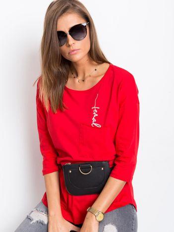 Czerwona bluzka Female