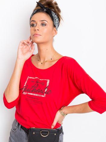 Czerwona bluzka Infy