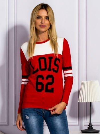 Czerwona bluzka LOIS 62