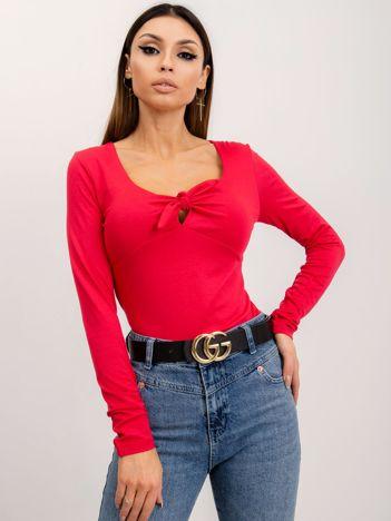 Czerwona bluzka Mood