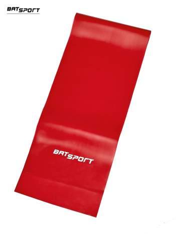 Czerwona guma do ćwiczeń poziom łatwy