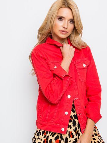 Czerwona kurtka Daisy