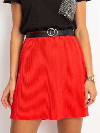Czerwona spódnica Delta