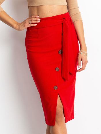 Czerwona spódnica Smile