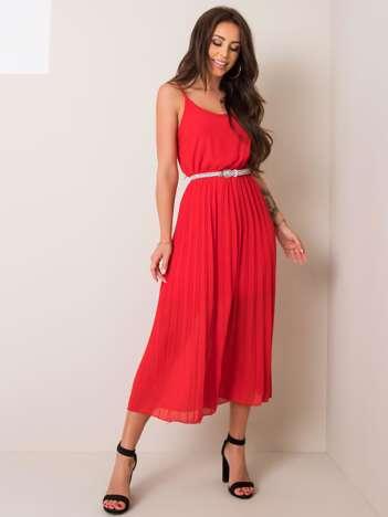 Czerwona sukienka Amina