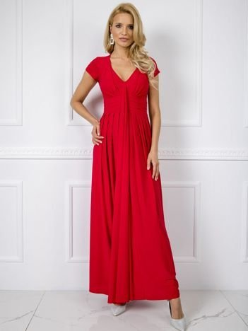 Czerwona sukienka Chrissy
