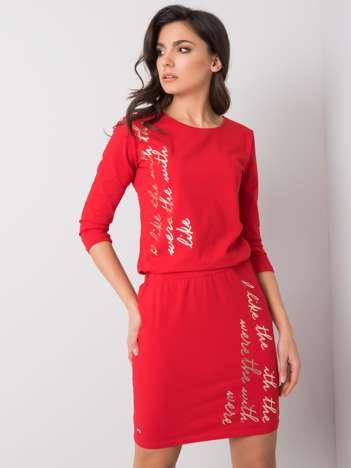 Czerwona sukienka Esme
