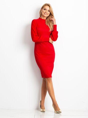 Czerwona sukienka Goddies