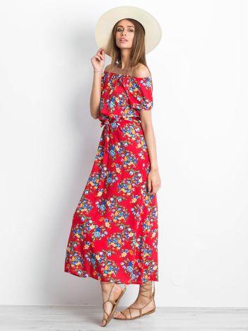 Czerwona sukienka Ibiza