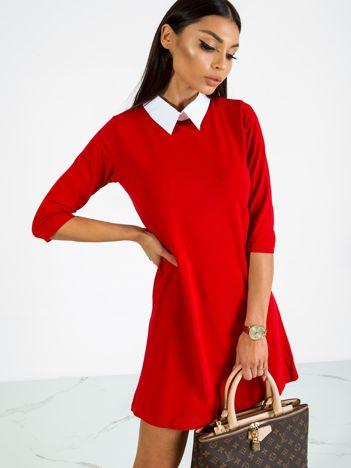 Czerwona sukienka Poppy