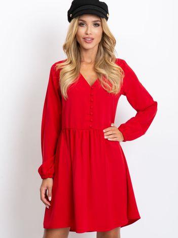 Czerwona sukienka Reason
