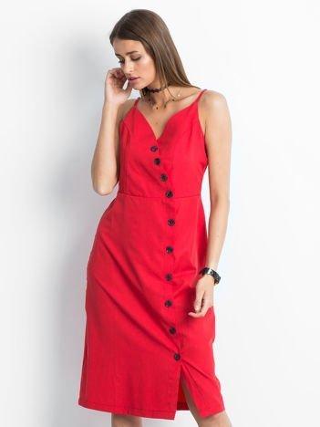 Czerwona sukienka Temptation