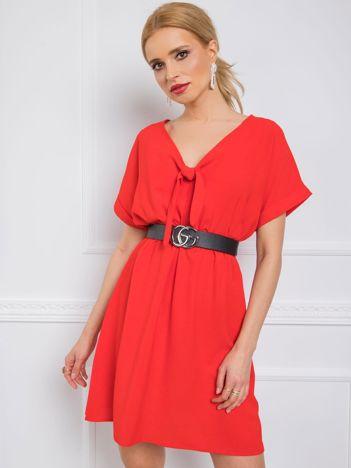 Czerwona sukienka Virginia RUE PARIS
