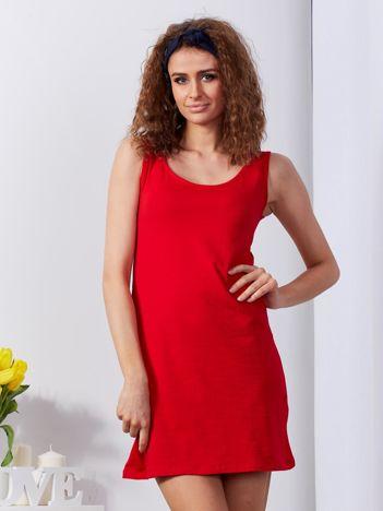 Czerwona sukienka cut out