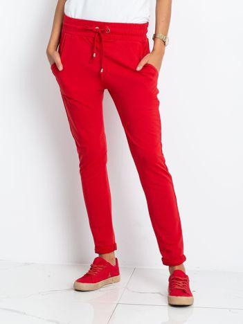 Czerwone spodnie Cadence